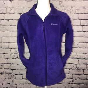 Columbia Deep Purple Fleece Jacket